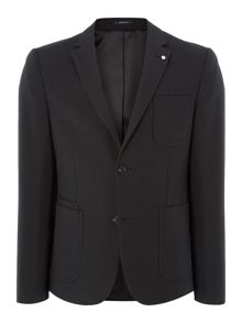 Peter Werth Glen Zig Zag Cotton Blazer
