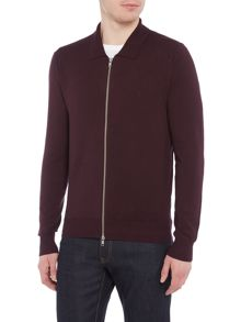 Peter Werth Cooper Zip Through Knitted Polo Shirt