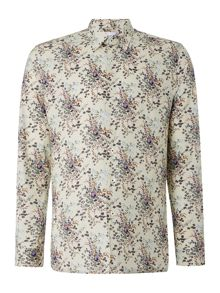 Peter Werth Orient Long Sleeve Paisley Cotton Shirt