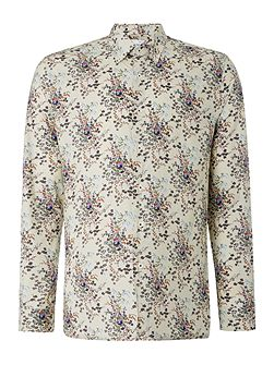 Orient Long Sleeve Paisley Cotton Shirt