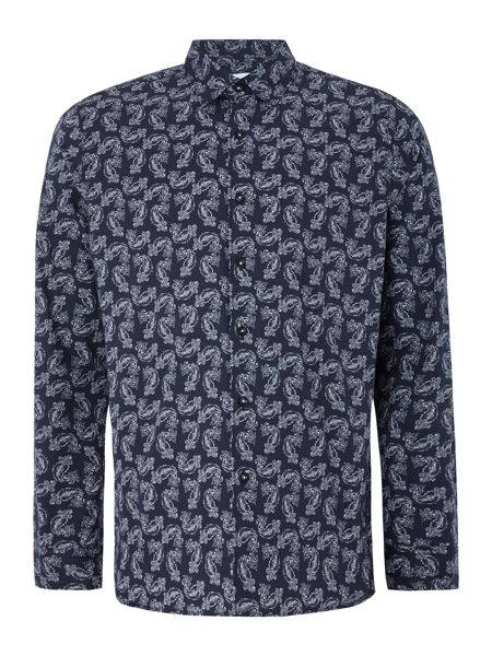 Peter Werth Tradition Paisley Print Stretch Cotton