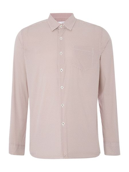 Peter Werth Wise Circle Print Stretch Cotton Shirt