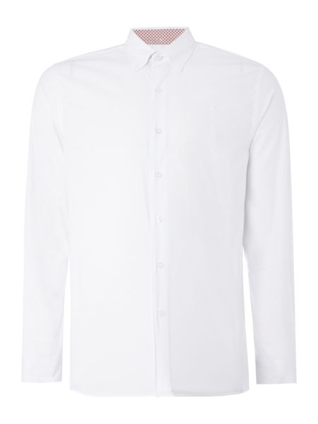 Peter Werth Project Cotton Shirt With Printed Trim