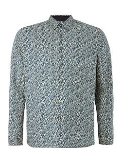 Regent Floral Cotton Stretch Shirt