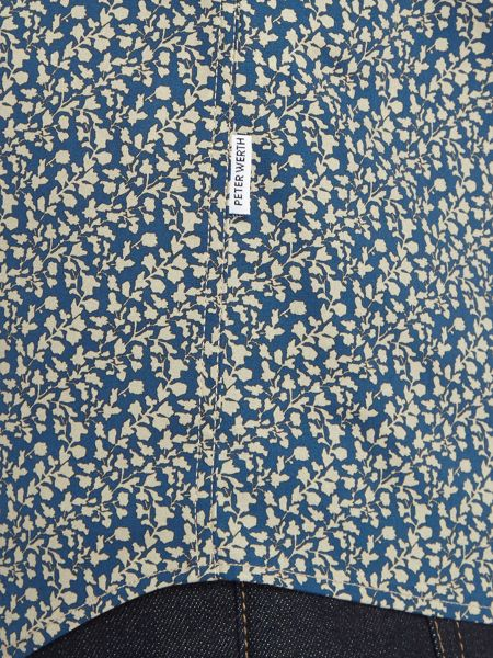 Peter Werth Regent Floral Cotton Stretch Shirt