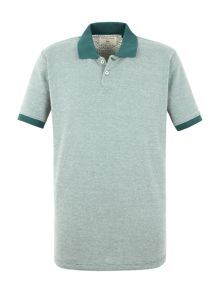 Racing Green Roland birdseye piue polo