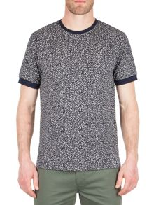 Racing Green Oliver All Over Print T-Shirt