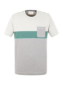 Sanchez Stripe and Pocket T-Shirt