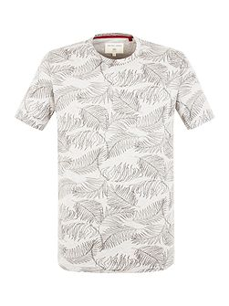 Sherwood Palm Leaf Print T-shirt