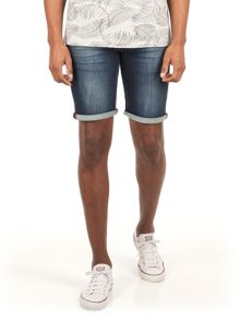 Racing Green Riviera denim shorts