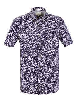 Graff all over pineapple print shirt