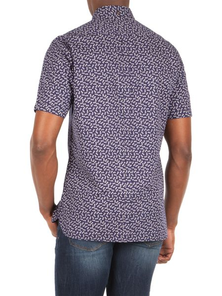 Racing Green Graff all over pineapple print shirt