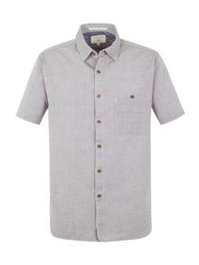 Racing Green Goldman grey  chambray shirt