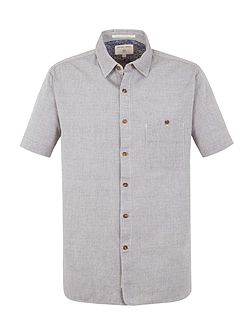 Goldman grey chambray shirt