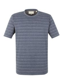 Racing Green Molina stripe t shirt
