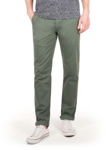 Racing Green Bridge flat front chinos