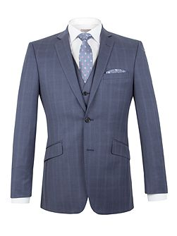 Litchfield check tailored fit jacket