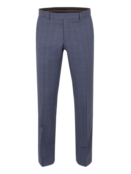 Alexandre of England Litchfield check tailored fit trouser