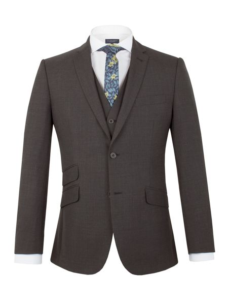Racing Green Barnes puppytooth tailored jacket
