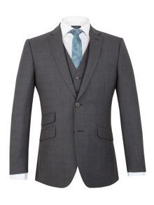 Racing Green Moore jaspe check tailored jacket