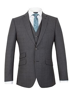 Moore jaspe check tailored jacket