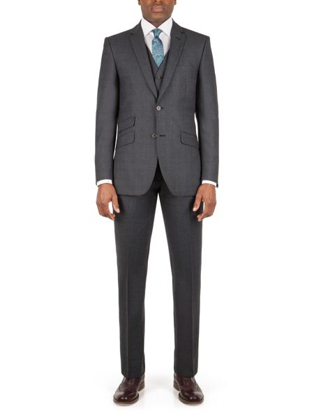 Racing Green Moore jaspe check tailored trouser