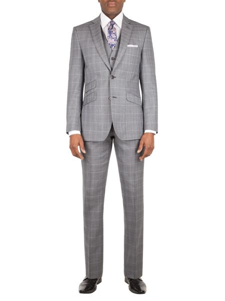 Alexandre of England Vincent tailored fit check jacket