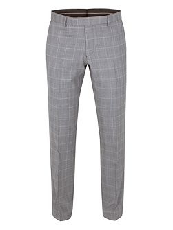 Vincent tailored fit check trouser