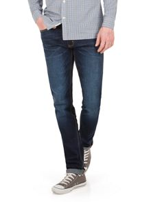 Racing Green Marr slim fit stonewash jean
