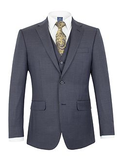 Bramham check regular jacket