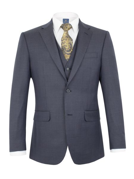 Aston & Gunn Bramham check regular jacket