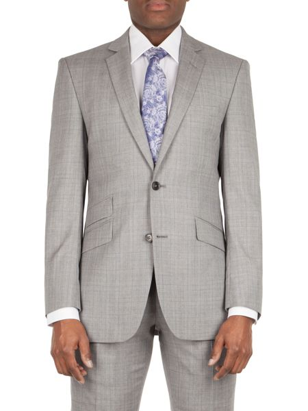 Alexandre of England Thornhill tailored fit check jacket