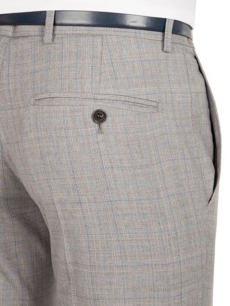 Alexandre of England Thornhill tailored fit check trouser
