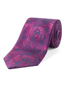 Alexandre of England Union rose oversketch tie