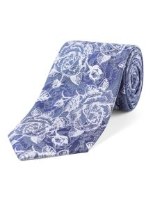 Alexandre of England Powis  rose oversketch tie