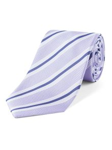 Aston & Gunn Marsden club stripe tie