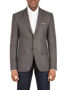 Racing Green Clarke  herringbone tailored jacket