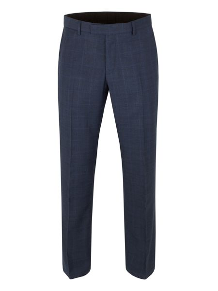 Aston & Gunn Ardsley check tailored trousers