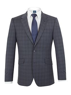 Carlton check tailored jacket