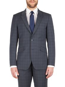 Aston & Gunn Carlton check tailored jacket