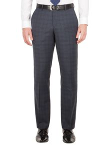 Aston & Gunn Carlton check tailored trousers