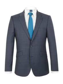 Aston & Gunn Apperley check tailored jacket