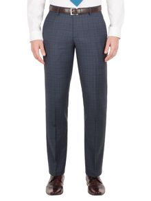 Aston & Gunn Apperley check tailored trousers