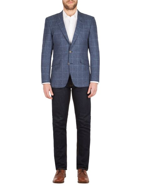 Aston & Gunn Ackton check jacket
