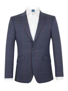 Aston & Gunn Clifton Check Tailored Jacket