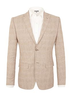 South grove linen tailored jacket