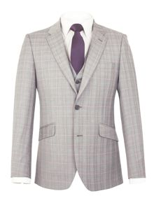 Aston & Gunn Eldwick Check Tailored Jacket