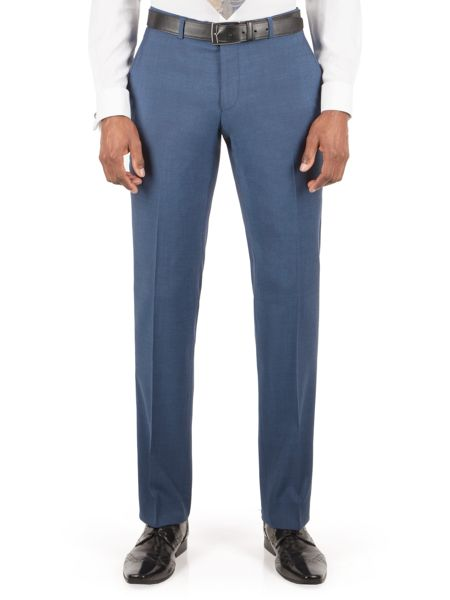 Alexandre of England Goldsmith bright blue panama trouser