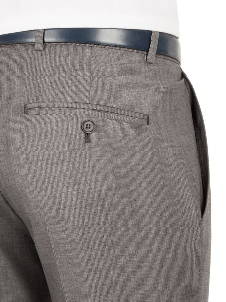 Aston & Gunn Oxenhope tailored sharkskin trouser