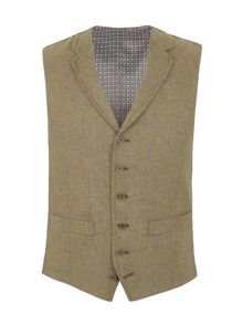 Racing Green Bailey tailored fit waistcoat